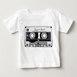Cassette tape - black - baby T-Shirt