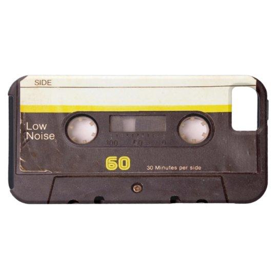Cassette Tape Black iPhone 5 Case