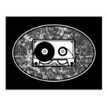 Cassette Tape Black & White Post Cards