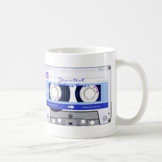 Cassette tape - blue - mugs