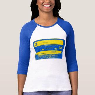 Cassette Tape Blue & Yellow T-Shirt