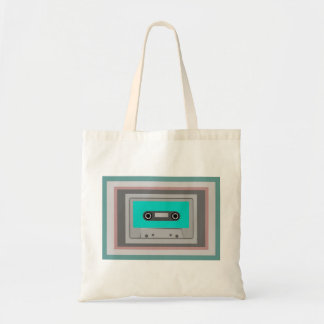 CASSETTE TAPE Budget Tote Budget Tote Bag