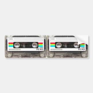Cassette Tape Bumper Sticker