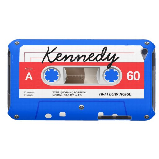Cassette Tape Barely There iPod Cover