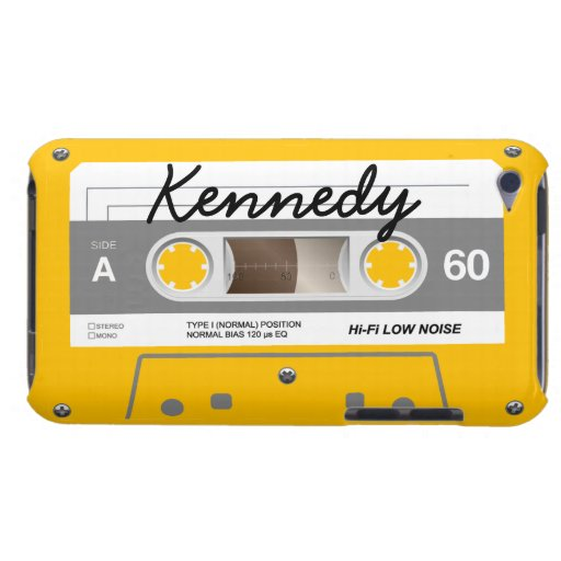Cassette Tape Barely There iPod Covers
