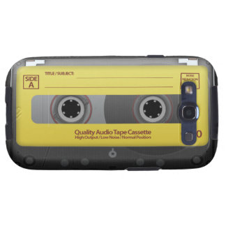Cassette Tape Samsung Galaxy SIII Cases