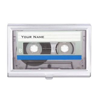 Cassette Tape Case For Business Cards