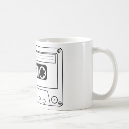 Cassette Tape Classic White Coffee Mug