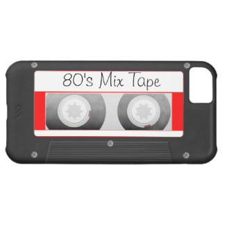 Cassette Tape Cover For iPhone 5C