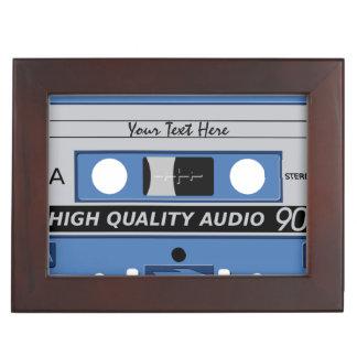 Cassette Tape custom keepsake box