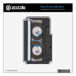 Cassette Tape Decal For iPod Touch 4G