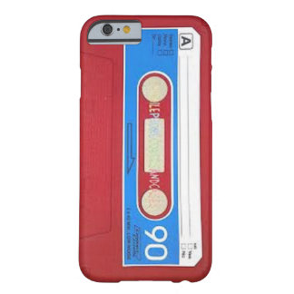 Cassette Tape Design Barely There iPhone 6 Case