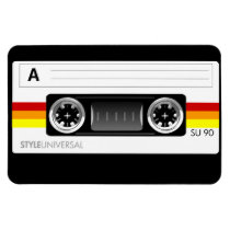artsprojekt, cassette, tape, cassette tape, retro, 1980's, recording, audio, [[missing key: type_fuji_fleximagne]] com design gráfico personalizado