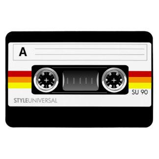 Cassette tape flexi magnet