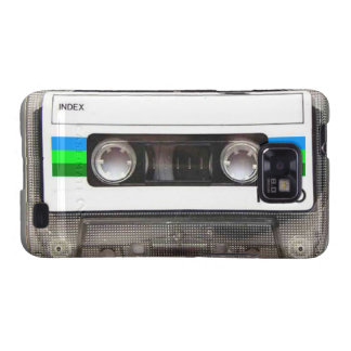 Cassette Tape Green Samsung Galaxy S Case Galaxy SII Cases