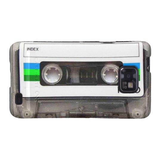 Cassette Tape Green Samsung Galaxy S Case