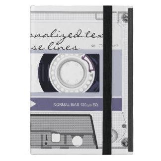 Cassette tape - grey - iPad mini case
