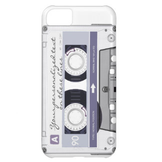 Cassette tape - grey - iPhone 5C cover