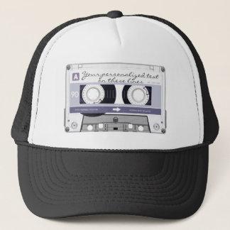 Cassette tape - grey - trucker hat
