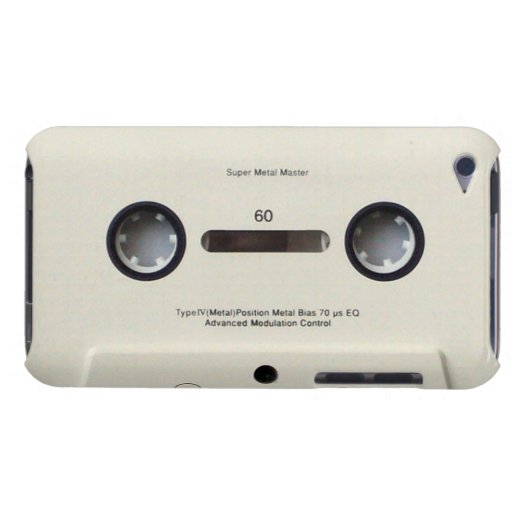 Cassette Tape iPod Touch Case-Mate Barely