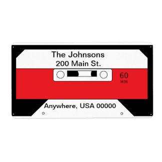 """Cassette Tape"" Label"