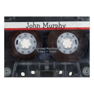 Cassette Tape Large Business Card
