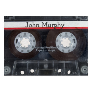 Cassette Tape Large Business Cards (Pack Of 100)