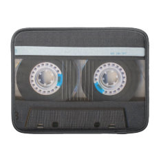 Cassette Tape Macbook Sleeve at Zazzle