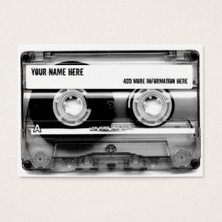 Cassette Tape Mixtape Business Cards