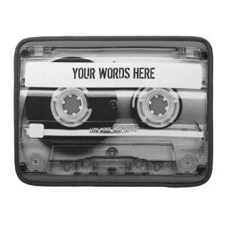 Cassette Tape Mixtape MacBook Sleeve