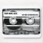 "Cassette Tape Mixtape Mouse Pad<br><div class=""desc"">Cassette Tape Mixtape Mouse Pad</div>"