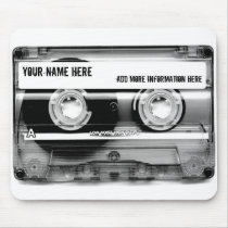 Cassette Tape Mixtape Mouse Pad