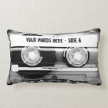 "Cassette Tape Mixtape (personalized) Lumbar Pillow<br><div class=""desc"">Cassette Tape Mixtape (personalized)</div>"