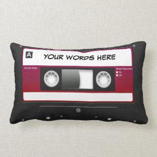 Cassette Tape Mixtape (personalized) Pillow