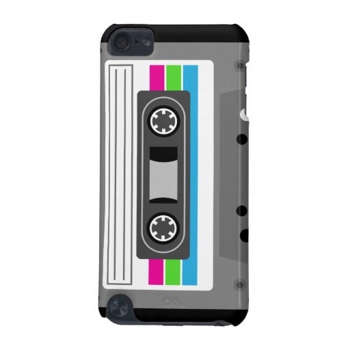 Cassette Tape Music iPod Case iPod Touch 5G Covers