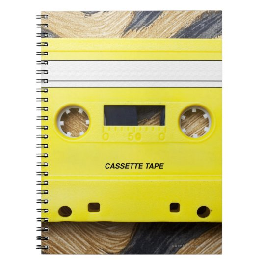 Cassette Tape Notebook