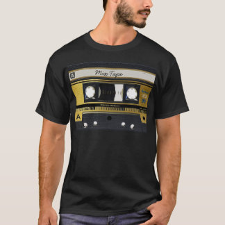 Cassette Tape Old School Retro Design T-Shirt