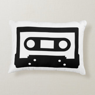 Cassette Tape Pillow perfect for music lovers