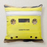 Cassette Tape Pillows