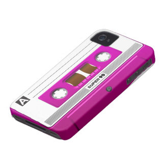 Cassette tape pink Case-Mate iPhone 4 case