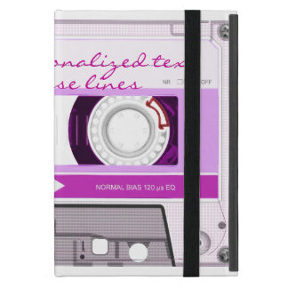 Cassette tape - pink - covers for iPad mini