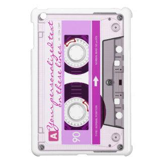 Cassette tape - pink - iPad mini case