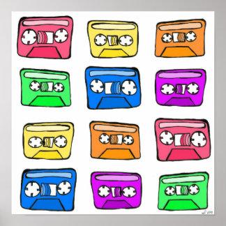 Cassette Tape - Poster
