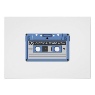 Cassette Tape Posters