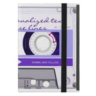 Cassette tape - purple - iPad mini cover