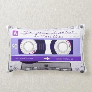 Cassette tape - purple - pillows