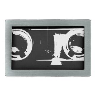 Cassette Tape Rectangular Belt Buckle