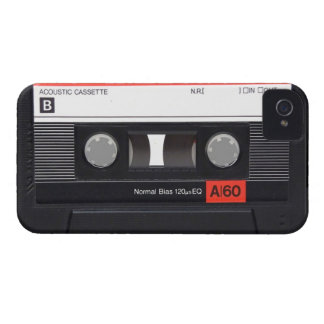 Cassette Tape Red Blackberry Bold Case