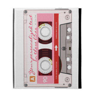 Cassette tape - red - iPad cases