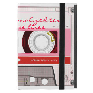 Cassette tape - red - cover for iPad mini
